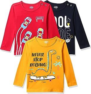 Amazon Brand - Jam & Honey Baby-Boy's Regular T-Shirt