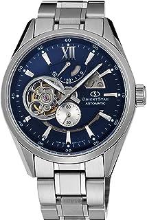 [オリエント]ORIENT 腕時計 ORIENTSTAR オリエントスター セミスケルトン 機械式 自動巻(手巻付) ネイビー WZ0191DK メンズ