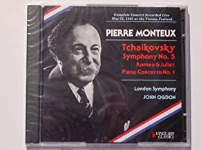 Pierre Monteux conducts Tchaikovsky at the Vienna Festival