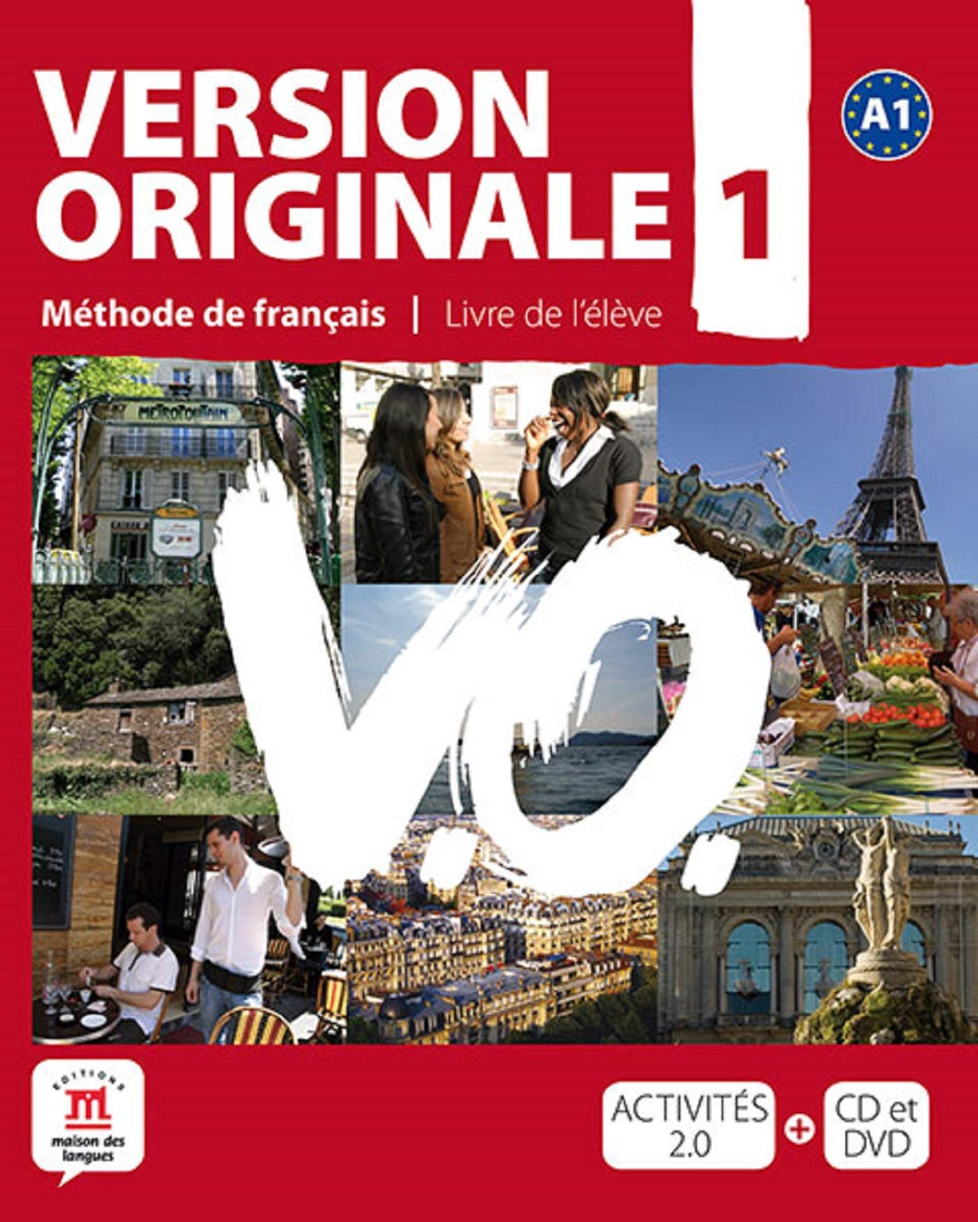 Image OfVersion Originale 1 : Méthode De Français (1DVD + 1 CD Audio)