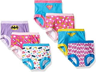 Justice League Toddler girl 3-Pack or 7-Pack Potty...