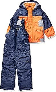 OshKosh B'Gosh Boys' Little Ski Jacket and Snowbib...