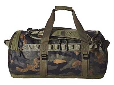 The North Face Base Camp Duffel Medium (Burnt Olive Green Waxed Camo Print/Burnt Olive Green) Duffel Bags