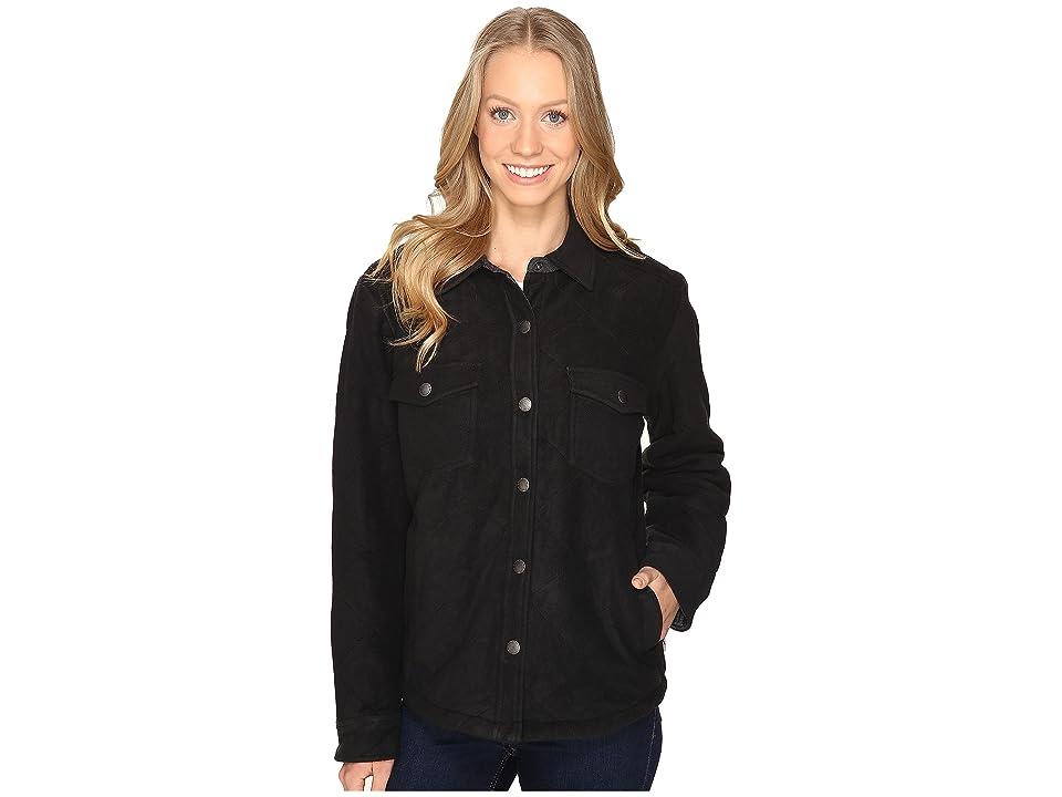Royal Robbins Foxtail Fleece Shirt Jack (Jet Black) Women