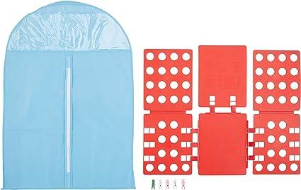 Tabla para doblar camisas Big Bang Theory Sheldon para la ropa sucia 4th generación tabla para doblar la ropa, sencillo mecanismo se puede plegar y ...