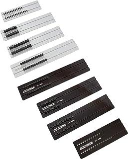OEM TOOLS 22388 8 Piece Aluminum Socket Tray Set