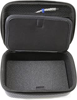 Casematix 7 Inch Dual Mod Case Compatble with 2 Moto Z Motorola Mods Hasselblad Camera, Jbl SoundBoost Speaker, Insta Share Projector, Printer , 5g , Smart Speaker