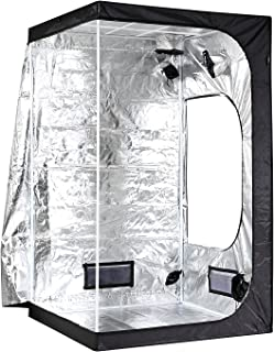 iPower GLTENTM1A Hydroponic Water-Resistant, Grow Tent, BLACK