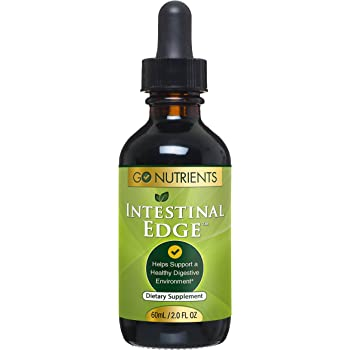 Intestinal Edge - High Potency Digestive Support & Cleanse for Humans with Black Walnut Hull, Wormwood and etc - 2 oz