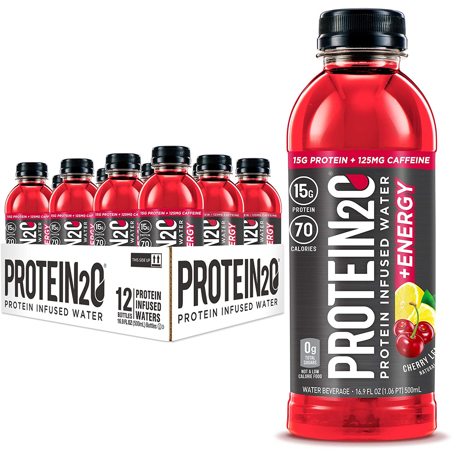 Max 73% OFF Protein2o 15g Whey Mail order Protein Infused Energy Plus Cherry Water Lem