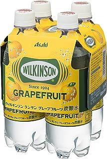 アサヒ飲料 ウィルキンソン タンサン グレープフルーツ 500ml×4本