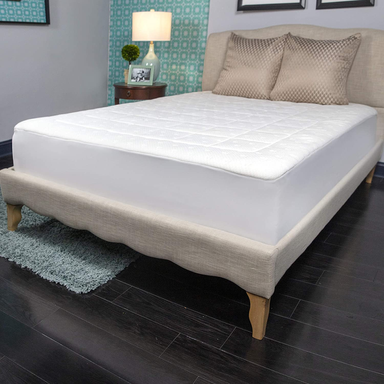 Cash special price Charisma Luxury Memory Foam Max 80% OFF and Fiber Washable Pad Wa Mattress X