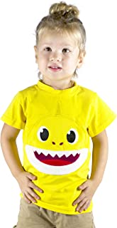 ComfyCamper Embroidered Baby Mommy and Daddy Shark Shirts for Family Costume