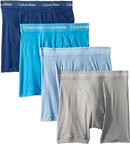 Cotton Classics 4-Pack Boxer Briefs
