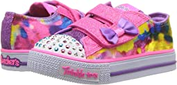 SKECHERS KIDS Twinkle Toes: Shuffles - Tie-Dye 10885N Lights (Toddler/Little Kid)