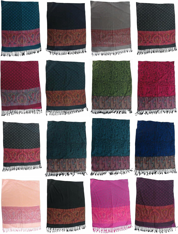 12 scarves retro boho paisley floral pashmina shawl wrap stole shawl for sale
