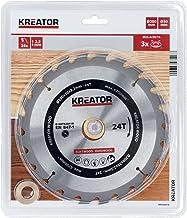 KREATOR KRT020418 KRT020418-Disco de Sierra Madera 200 mm24d
