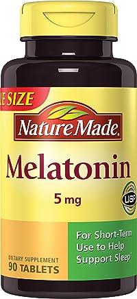 Nature Made Maximum Strength Melatonin 5 mg Tablets 90 Ct