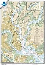 Paradise Cay Publications NOAA Chart 11524: Charleston Harbor 34.7 x 49.5 (WATERPROOF)