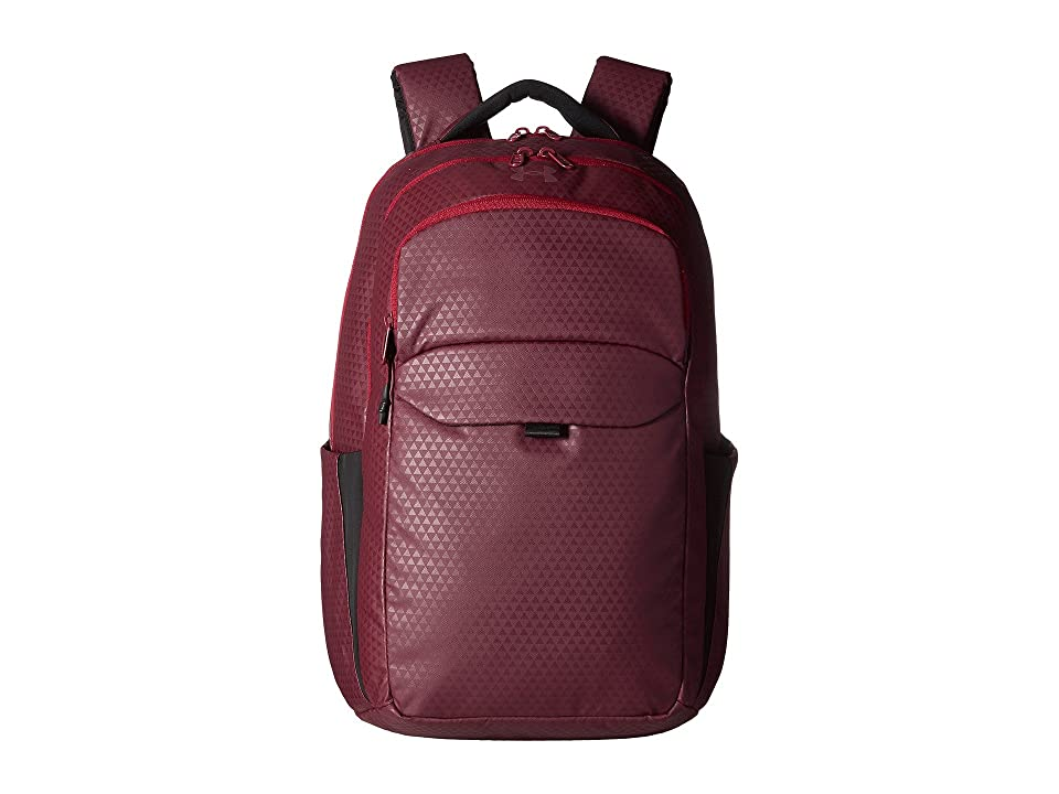 Under Armour UA On Balance Backpack (Raisin Red/Black Currant/Raisin Red) Backpack Bags