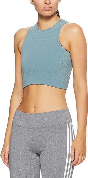 Adidas Women's Warpknit Crop-Top