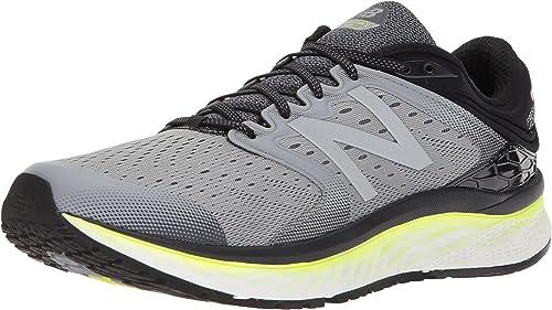 New Balance Chaussures Fresh Foam M1080 pour Homme, 43 EUR - Width B, gris jaune