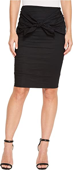Nicole Miller - Brandi Cotton Metal Skirt