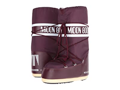 MOON BOOT Moon Boot(r) Nylon (Burgundy) Cold Weather Boots