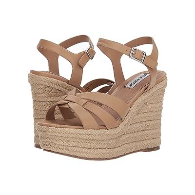 Steve Madden Knight Espadrille Wedge Sandal (Tan) Women