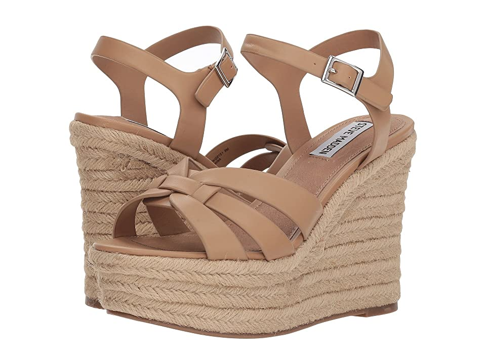 Steve Madden Knight Espadrille Wedge Sandal (Tan) Women