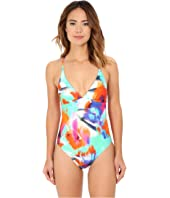 La Blanca - Bloom Garden Strappy Back One-Piece