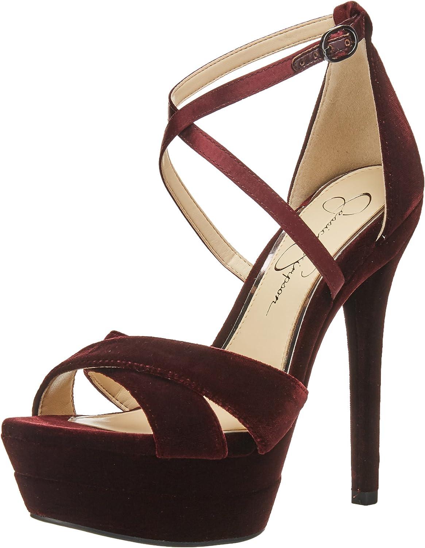 Jessica Jessica Jessica Simpson kvinnor Roxelle Heeled Sandal  försäljning med hög rabatt