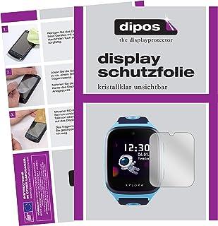 dipos I 6X Protector de Pantalla Compatible con Xplora X4 pelicula Protectora Claro