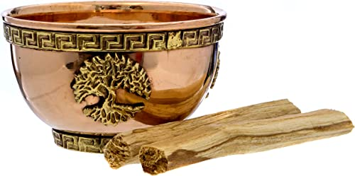 popular Alternative high quality Imagination Tree of Life new arrival Copper Offering Bowl Kit. Includes Sand and Palo Santo online