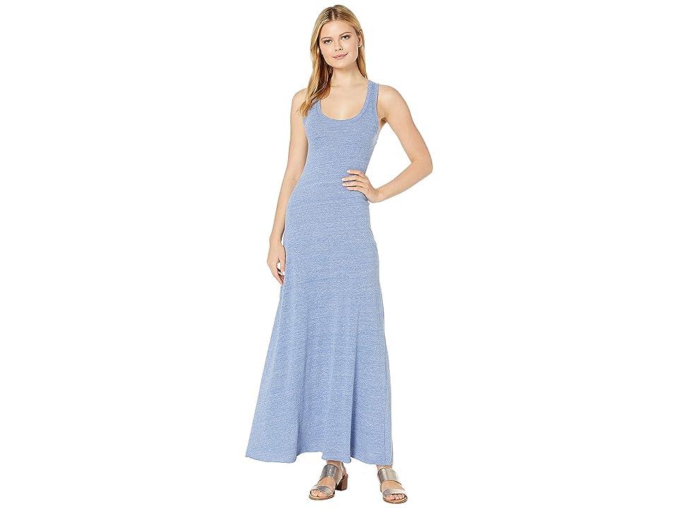 Alternative Racerback Maxi Dress (Eco Pacific Blue) Women