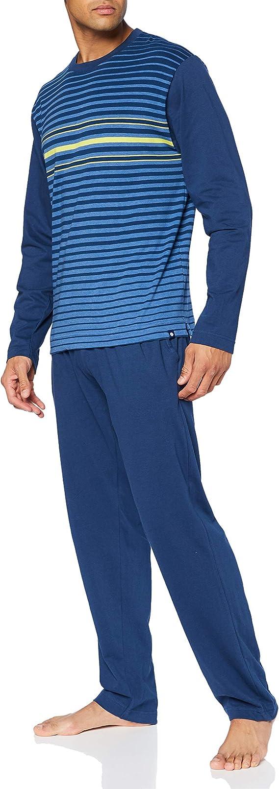 Punto Blanco Conjunto Frequency Juego de Pijama para Hombre