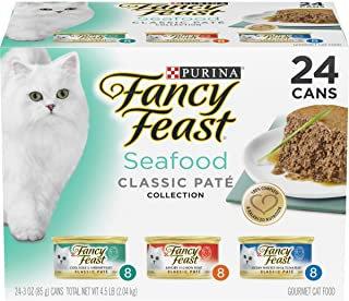 Purina Fancy Feast Classic Pate Collection Feast Adult Canned Wet Cat Food Variety Packs
