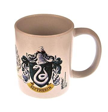 "Harry Potter MG22059""Slytherin Crest"" Ceramic Mug - White"