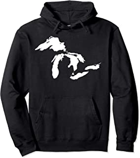 Great Lakes Michigan Hoodie