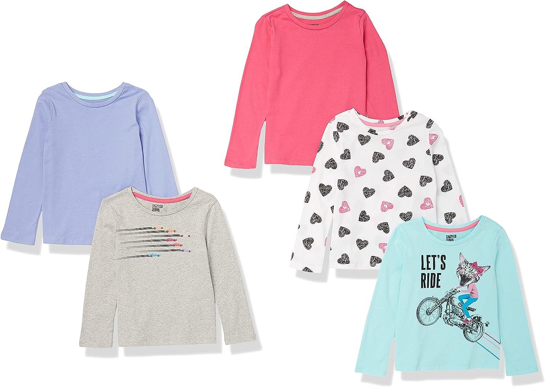 Spotted Zebra Girls' Long-Sleeve T-Shirts