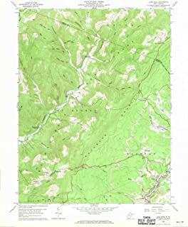 YellowMaps Lead Mine WV topo map, 1:24000 Scale, 7.5 X 7.5 Minute, Historical, 1959, Updated 1970, 27 x 22 in