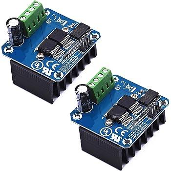 2pcs BTS7960 43A High Power Motor Driver Module/Smart Car Driver Module for Arduino Current Limit