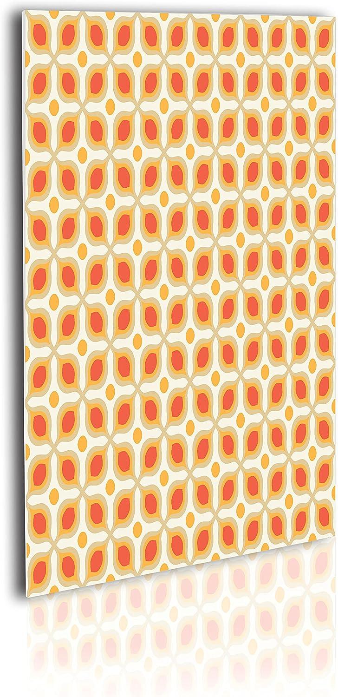 latest Ambesonne Geometric Acrylic Glass Wall specialty shop Geometri Linked Bold Art