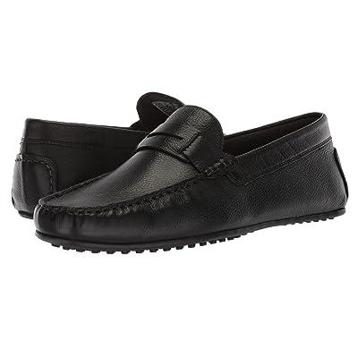 Hush Puppies Vastus Penny (Black Leather) Men