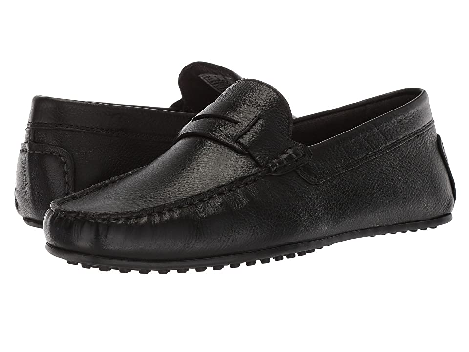 Hush Puppies Vastus Penny (Black Leather) Men