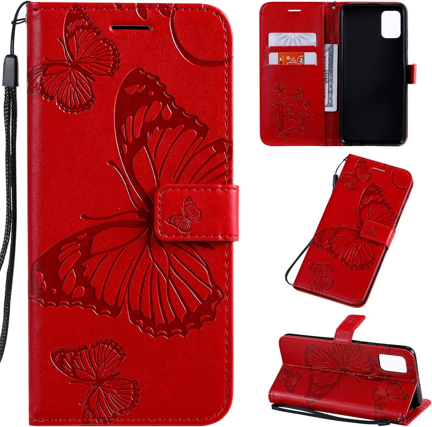Department store Amocase Wallet Leather Case with 2 Galax for Max 40% OFF Stylus Samsung in 1