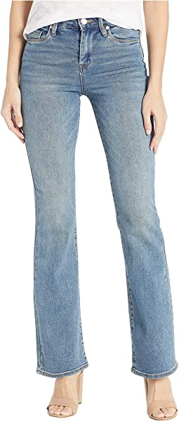 Flare Jeans in Star Bursts