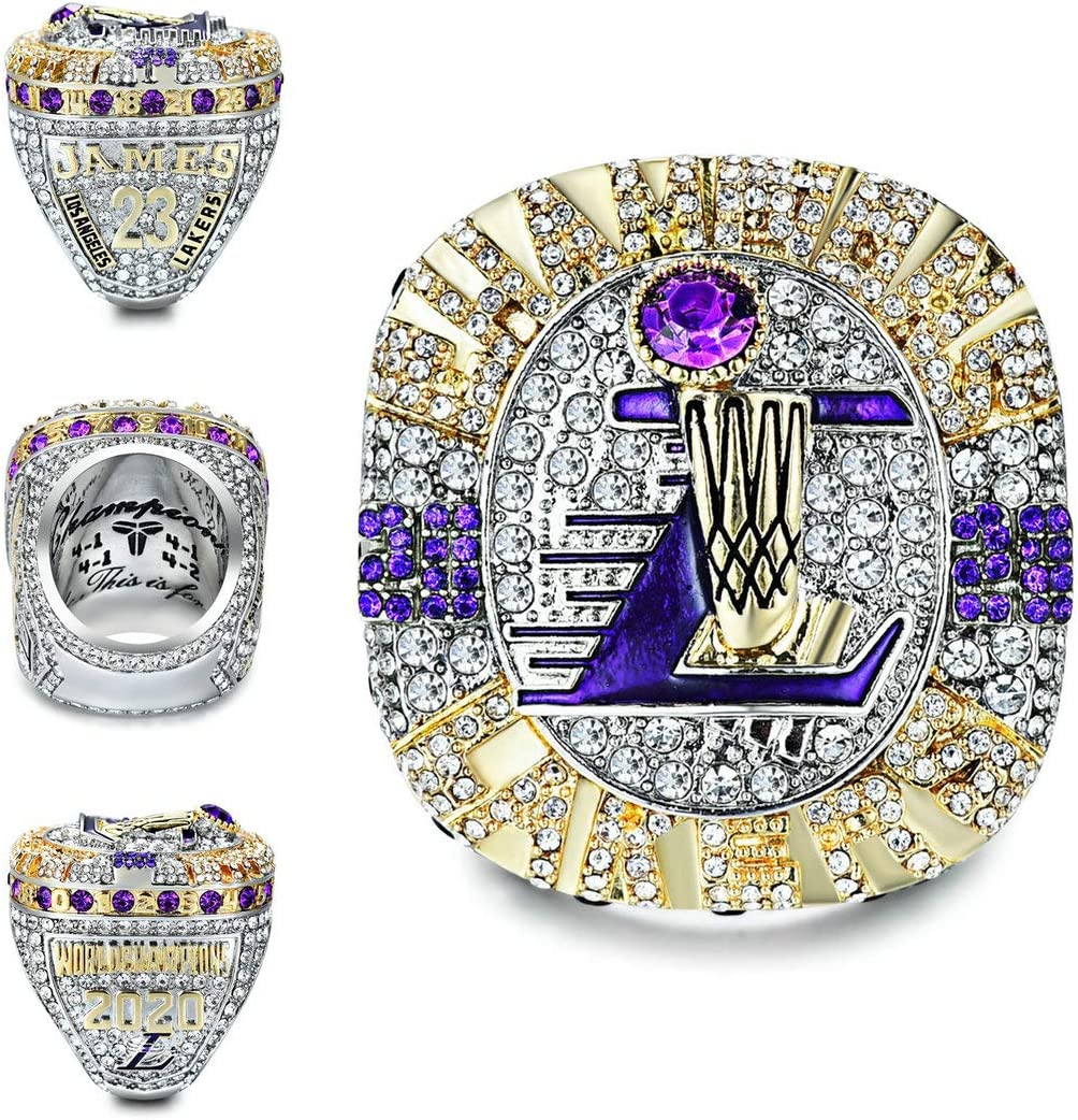 2020 Courier shipping free shipping Lakers Championship Ring Version Detachable R High quality Official