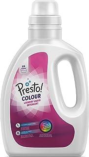 Merk: Amazon Presto! Vloeibaar wasmiddel verf, 44 wasbeurten (1 pakket met 44 wasbeurten)