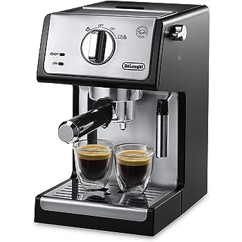 """De'Longhi ECP3420 Bar Pump Espresso and Cappuccino Machine, 15"""", Black"""